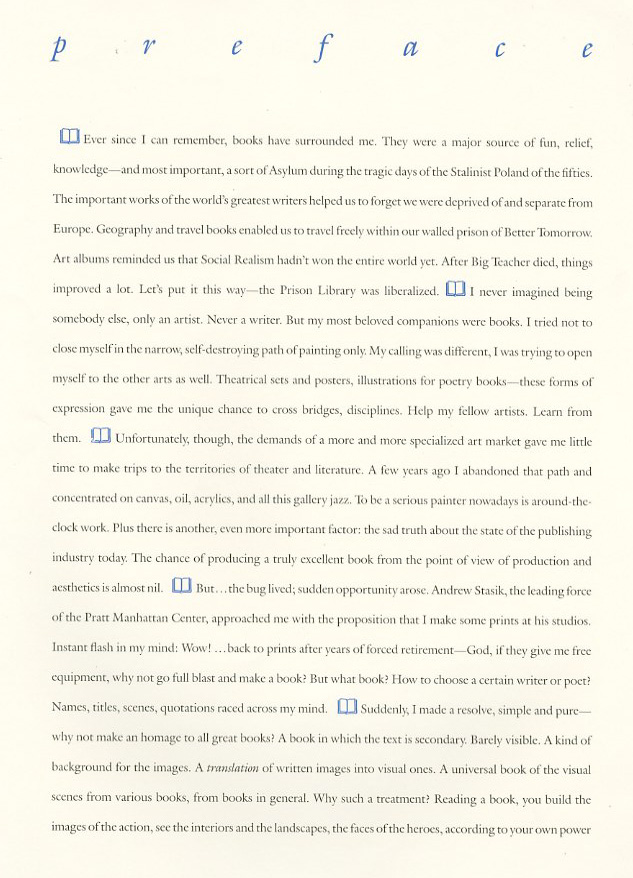 A Page From A Book of Fiction
